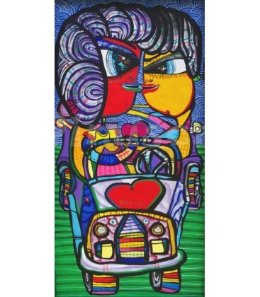 The car of love 02 Painting