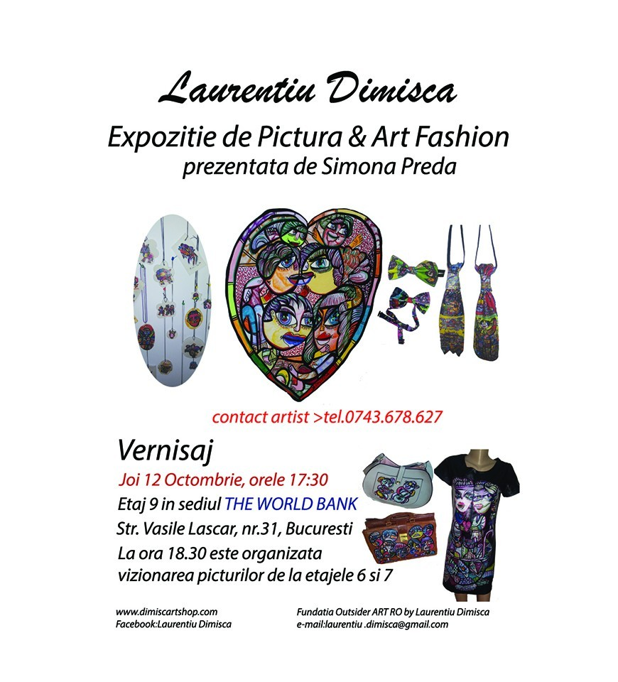 Expozitie de Pictura & Art Fashion