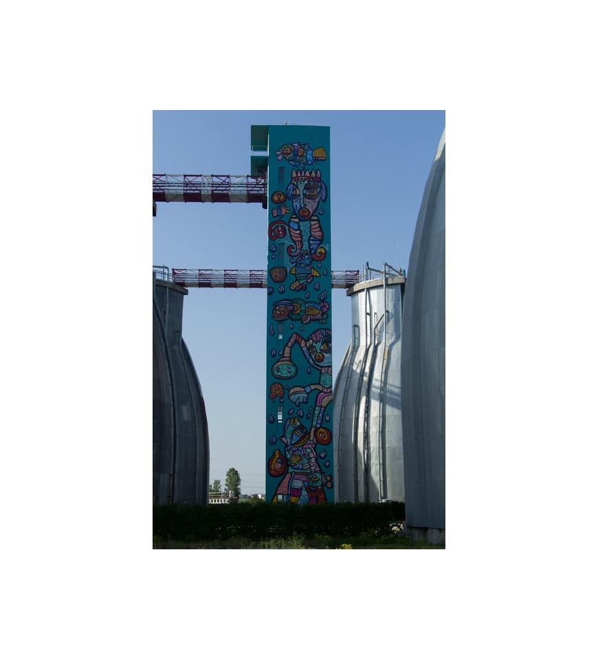 L'ALCHIMISTE - VEOLIA'S ART TOWER AT THE GATES OF BUCHAREST 2